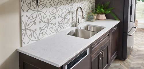 Cirrus Kitchen Countertop Quartz by LG