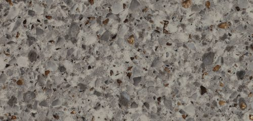 Imperial Gray Quartz Kitchen Countertop by Radianz