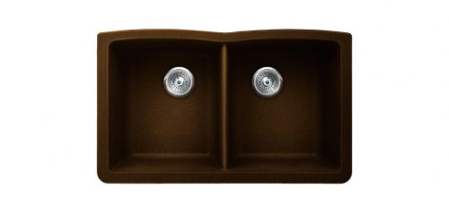 Vertu E Chocolate Kitchen Sink by Pearl