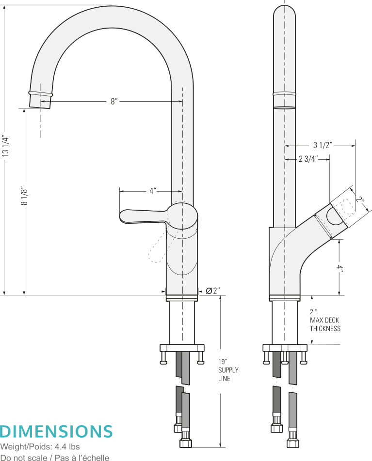 Tanner Bar Faucet by Pearl